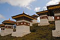 Druk Wangyal - 108 Chortens at Dochula on Thimphu-Punakha Highway - Bhutan - panoramio (2).jpg