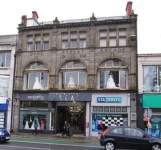Castle Quarter - Image: Duke Street Arcade Cardiff
