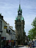 Dunfermline City Chambers in Dunfermline