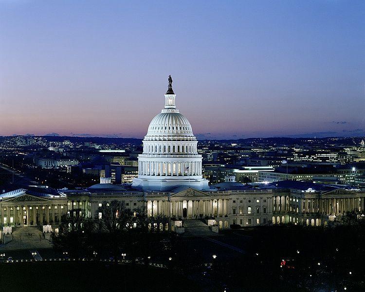 File:Dusk at U.S. Capitol, Washington, D.C..jpg