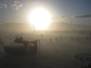Burning Man annual experimental festival based in Nevada, United States