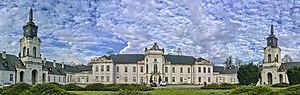 Radzyń Podlaski - Image: Dziedziniec pałacu Potockich