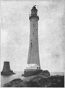 Douglass's Eddystone lighthouse.