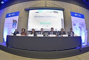 Extractive Industries Transparency Initiative - EITI Global Conference, February 2016