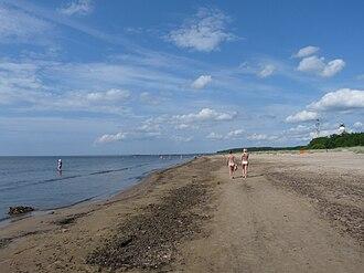 Narva-Jõesuu - Narva-Jõesuu beach
