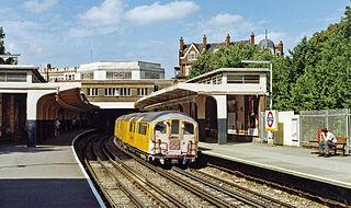 Ealing Common tube station London Underground station