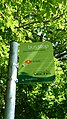 East Cowes Medical Centre bus stop flag.JPG