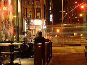 Marquee Moon - Image: East Village Sidewalk After Dark (New York, NY) (5720189120)