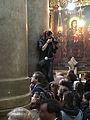Easter christian mass in Holy Sepulchre church 2016.jpg