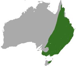 Distribución de M. giganteus
