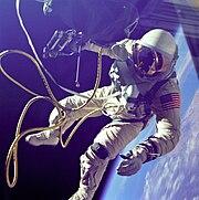Ed White First American Spacewalker - GPN-2000-001180