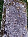 Edburton, St Andrews Church, grave of George Keith, inscription.jpg