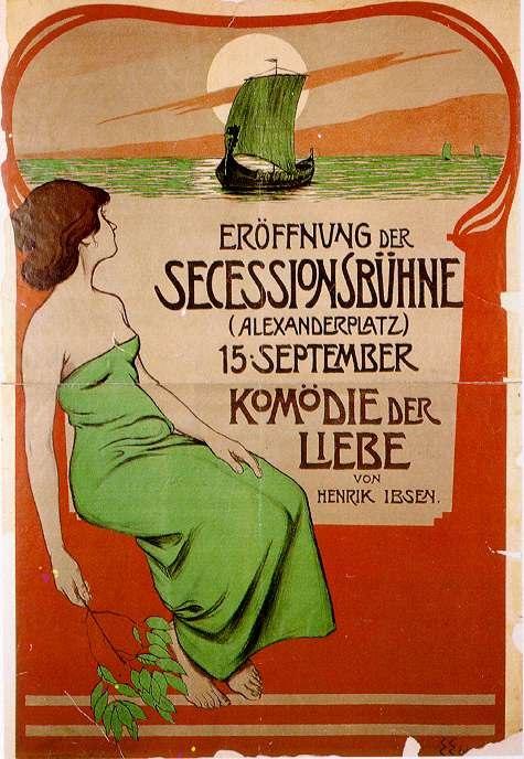 Edel Secessionsbühne 1900