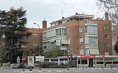 Edificio Richmond, Plaza República Argentina, Madrid (1953)