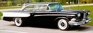 Edsel - A 1958 Edsel Pacer 2-Door hardtop
