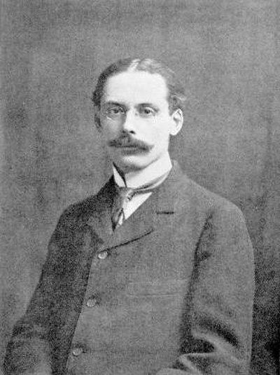 Picture of an author: Edwin Arlington Robinson