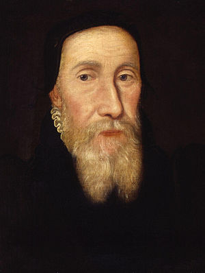 Edwin Sandys (bishop) - Image: Edwin Sandys from NPG