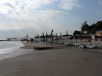 Eforie - Image: Eforie Nord, beach
