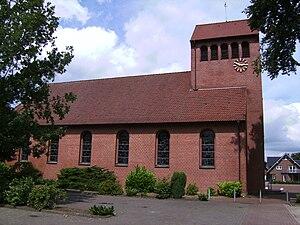 Eggermühlen - Eggermühlen, church