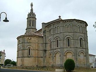 Bayon-sur-Gironde - Image: Eglise de Bayon