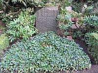 Ehrengrab Hüttenweg 47 (Dahl) Carl Heinrich Becker.jpg