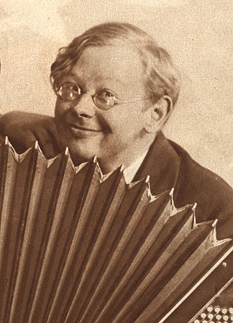 Einar Fagstad - From theatre programme for Rolfs Revy 1931, performed in Stockholm 1931