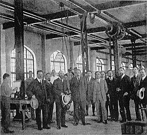 Science and technology in Israel - Albert Einstein at the Technion; c. 1925