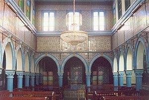 El Ghriba synagogue - Interior of El Ghriba Synagogue