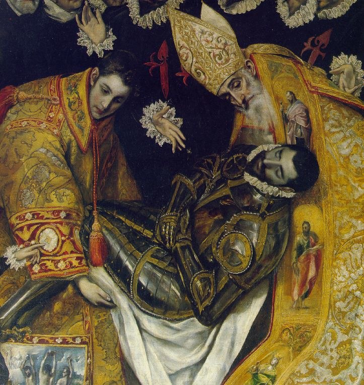 El Greco - Count Orgasz detail