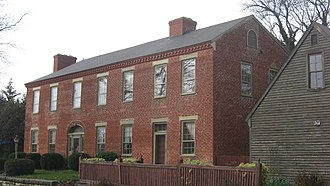 National Register of Historic Places listings in Ripley County, Indiana - Image: Elias Conwell House