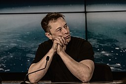 Elon Musk at a Press Conference