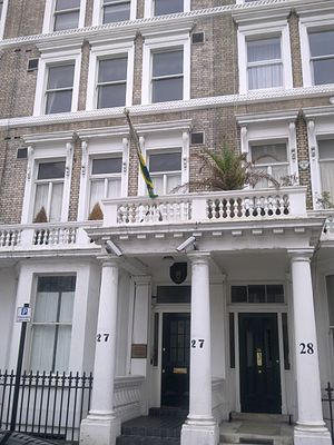 Embassy of Gabon, London - Image: Embassy of Gabon in London 1