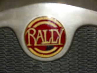 Automobiles Rally - One of several logos used by Rally