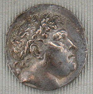 Eumenes I - Coin of Eumenes. Cabinet des Médailles, Paris.