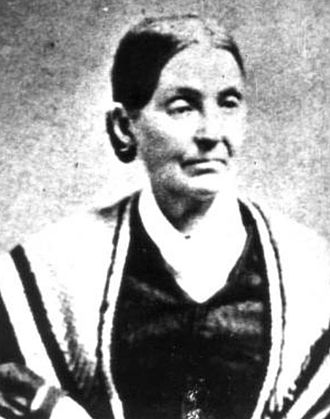 Emma Smith - Emma later in life, ca. 1870s