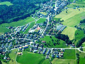 Gaiserwald - Engelburg village in Gaiserwald