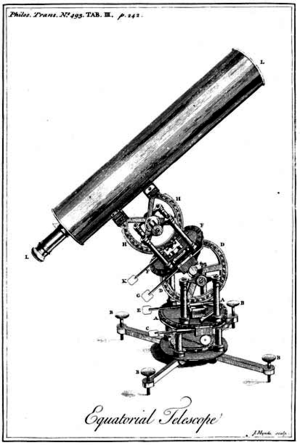 James Short (mathematician) - James Short's reflecting telescope
