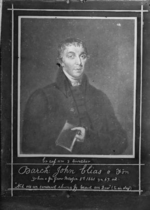 John Elias - Image: Er cof am y diweddar Barch John Elias o Fon .. NLW3364384