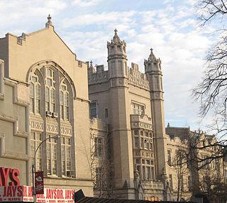 Erasmus Hall High School United States historic place