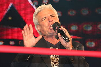 English: Eric Bischoff at a TNA Impact! taping