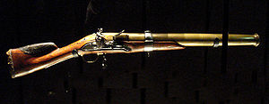 Blunderbuss - A French blunderbuss, called an espingole, 1760, France.