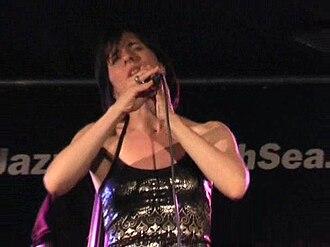 Esra Dalfidan - At North Sea Jazz Festival, 11 July 2008, Rotterdam