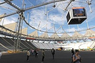 Estadio Ciudad de La Plata - Image: Estadio único de la plata diciembre de 2010