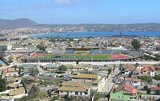 Estadio Municipal Francisco Sánchez Rumoroso - Image: Estadio Francisco Sanchez Rumoroso 1