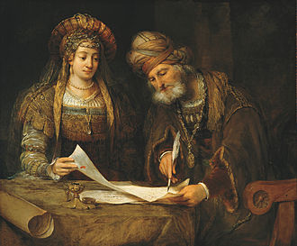 Esther - Esther talking to Mordecai