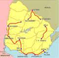 Etapas de la Vuelta del Uruguay 2005.png