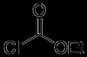 Ethyl chloroformate - Image: Ethyl chloroformate