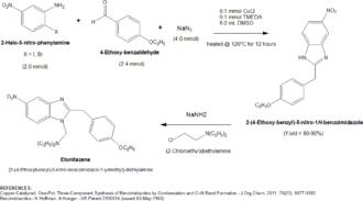 Etonitazene - Etonitazene 2011 synthesis