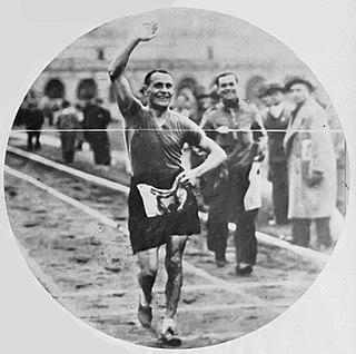 Ettore Rivolta Italian racewalker
