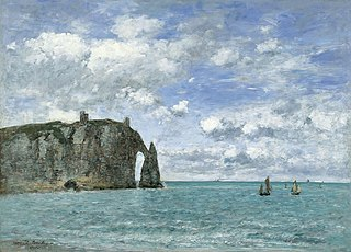 Étretat. The Cliff of Aval